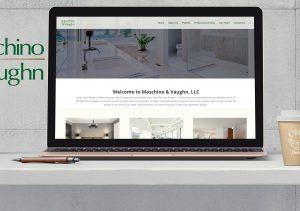 DevLab Creative - website design/develop for Maschino & Vaughn
