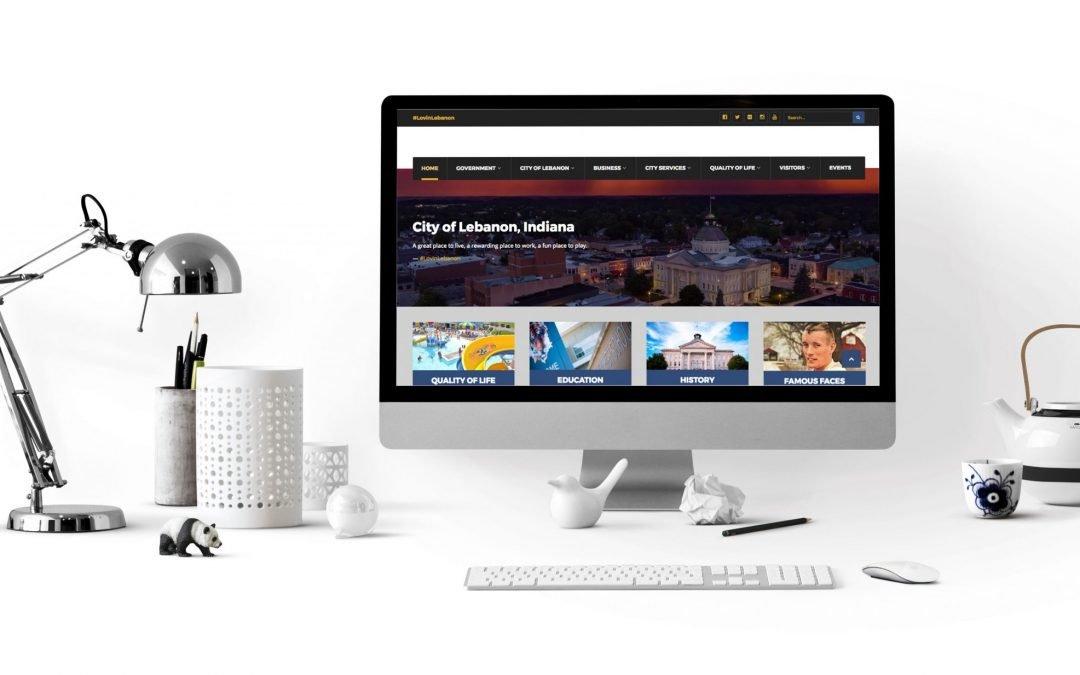 DevLab Creative's Latest Work – City of Lebanon Website