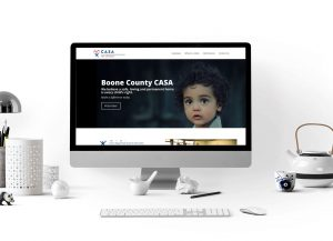 CASA website design