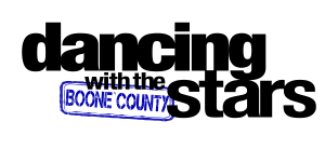 dancing with the boone county stars logo